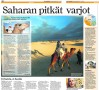 Sahara (Ilta-Sanomat) - text by Tea Karvinen