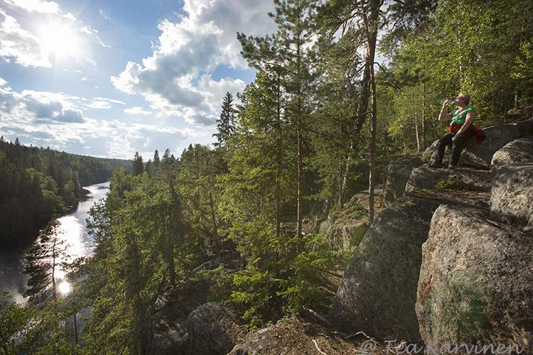 Helvetinjärvi / summer