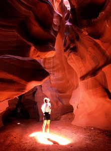108 – A wonderful Antelope Canyon in Arizona
