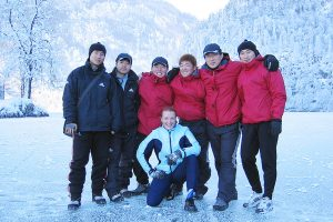 1948 – During the winter 2005-2006 I trained a lot with the South-Korean skeleton team.