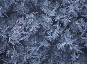 Jäätynyt ikkunalasi  ||| frozen window glass