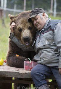 4845 – Kuusamon Sulo ja Juuso-karhu ovat parhaimmat ystävykset.
