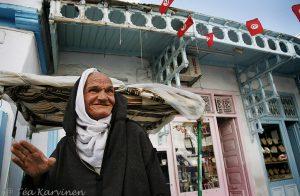 Kairouanin vanhassa kaupungissa.