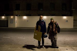 7630 – At work in downtown of London: being homeless for 3 days...