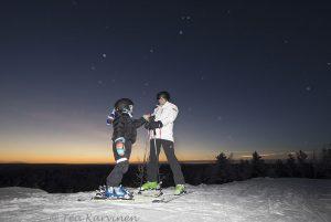 photo of the week 1 - Ounasvaara, Rovaniemi, Lapland