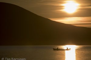 photo of the week 30 - Lake Pallas at Pallas-Yllästunturi National Park