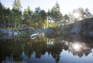 7431 - Camping on the island of Vaajasalo