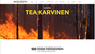 100 Finnish photographers