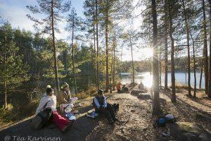 517 – Island of Holma-Saarijärvi in October