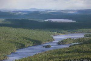 Lemmenjoen jokilaaksomaisemaa