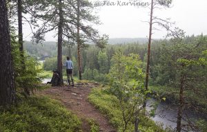 7888 – a camping area at Taivalköngäs