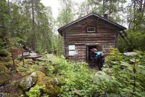 7927 – a wilderness cabin at Taivalköngäs