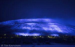 Photo of the week 48 - Luminous Finland 100, Kilpisjärvi