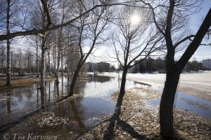 photo of the week 17 (Spring time in Rovaniemi)