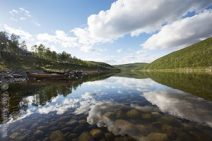photo of the week 32 – (Teno river in northern Finland)