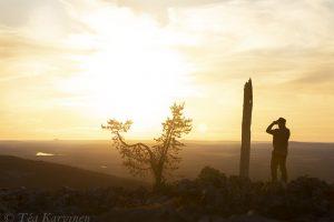 7285 – Luoston huipulla - on the top of Luosto fell