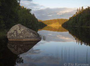 6490 – Kurkijärven auringonlasku – Kannuslahti
