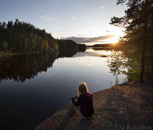 6497 – Kurkijärven auringonlasku