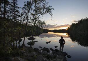 6532 – Kurkijärven auringonlasku