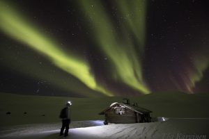 photo of the week 10 – By myself in the wilderness of Kilpisjärvi region of Finnish Lapland