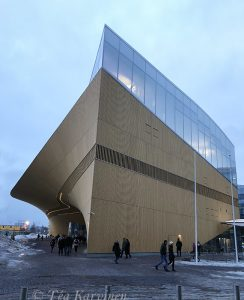 photo of the week 6 – Oodi library in downtown of Helsinki
