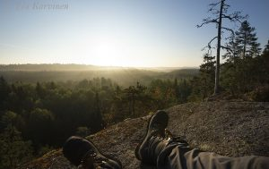 8813 – Early morning in Nuuksio National Park in the capital area of Finland