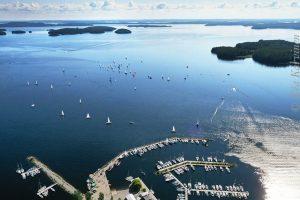 151 – A view of Padasjoki and the lake