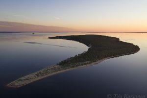 photo of the week 24 (Island called Ärjä in Oulujärvi lake)