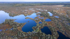 62-63 – The small lake of Kauhalammi & the boardwalk around it.