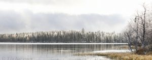 5763-5766 – Huttujärvi lake in October