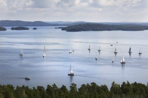 2817 – Päijänne lake sailing competition