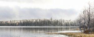 photo of the week 42 (Huttujärvi lake in Pyhä-Luosto National Park)