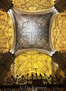 photo of the week 45 (The largest Gothic Cathedral in the world is in Seville, Spain)