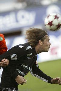 1026 – Mika Kottila Allianssi- FC Lahti jalkapallo-ottelussa v. 2005