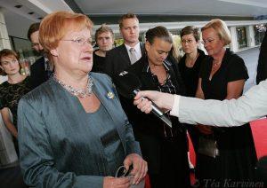 2170 – Presidentti Tarja Halonen v. 2007