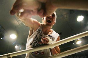 5427 – Amin Asikainen voitti Mexicon Luis Ramon Campaksen seitsemännessä erässä tyrmäyksellä Helsingin kisahallissa v. 2008.