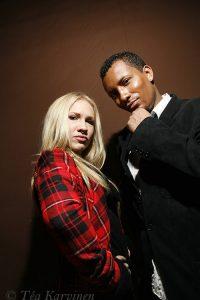 6292 – Eurovision laulukilpailu, Suomen karsinta 2008.  Kwan eli Mariko ja Tidjan.