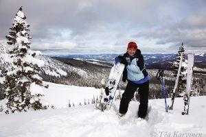 1912 – Snowboarding in Canada