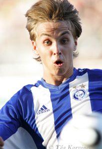 4505 – HJK:n Jarno Parikka Uefa Cupin karsintaottelussa v. 2006