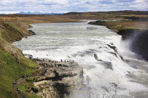8636 – Gullfoss waterfall in Iceland.