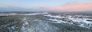 photo of the week 2 – (Ounasvaara, the highest point of Rovaniemi city at the arctic circle)