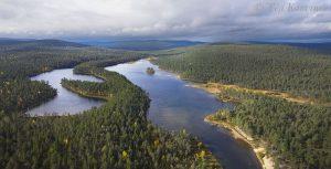 756-757 – Suomujoki river in UK National Park