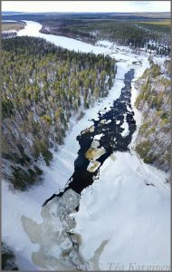 photo of the week 15 – Vaattunkiköngäs in the Arctic Circle Area Hiking Area in Rovaniemi, Finnish Lapland