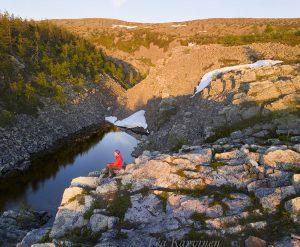 597-598 – At midnight @ Noitatunturi, Pyhä-Luosto National Park, Finland
