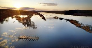 photo of the week 22 – Ounasjoki river flooding in Rovaniemi