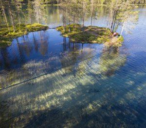 photo of the week 25 – At lake Soiperoinen, Syöte region
