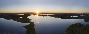 284-287 - Punkaharju ridge at Saimaa lake area