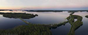 316-318 - Punkaharju area at Saimaa lake area