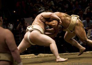 355 –  Grand Sumo Tournament in Tokyo, Japan.