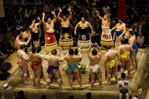 5015 –  Grand Sumo Tournament in Tokyo, Japan.